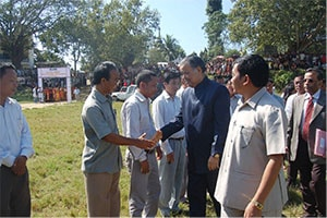 Visit of M M Lakhera