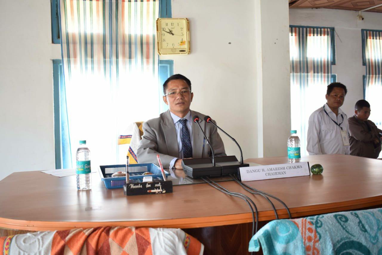Dangu H. Amaresh Chakma, Chairman, CADC