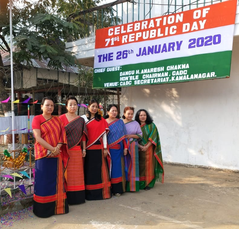 Flag Hoisting at CADC Secretariat on the occasion of  71st Republic Day, CADC